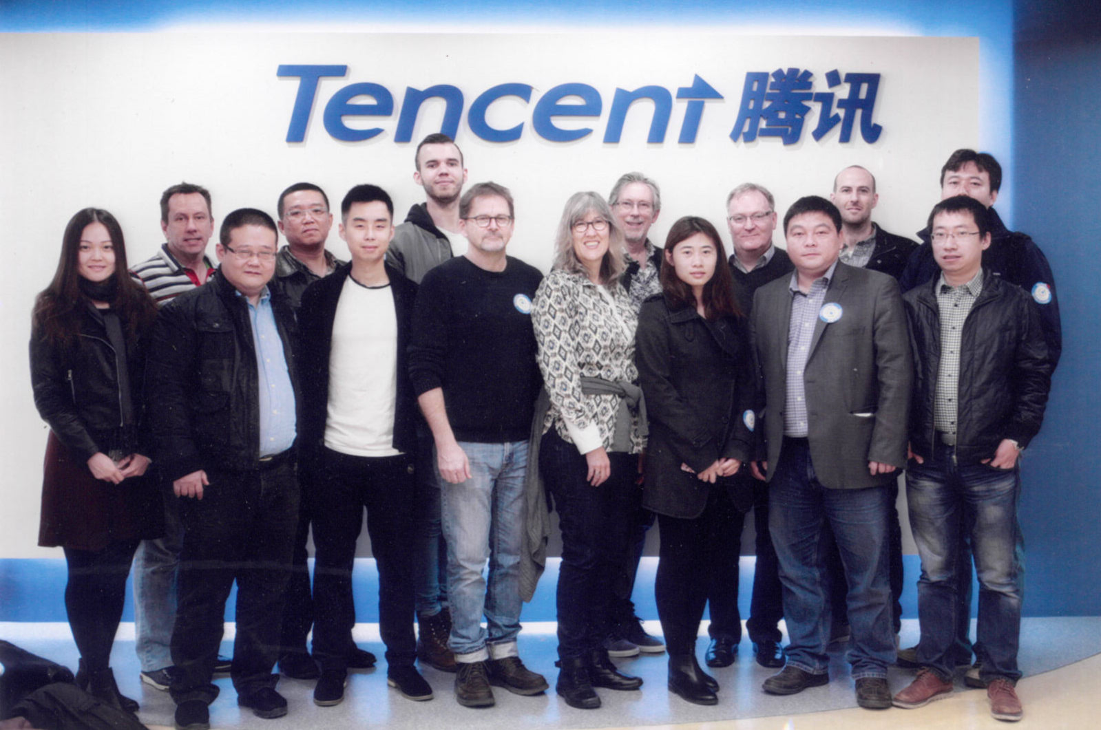 CAMP cohort visits Tencent Nov 2015