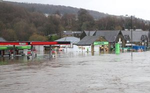 The Telegraph - Yorkshire Flooding