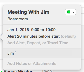 Frustrating Meeting Request