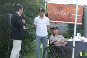Jonathan and Terry with Michael Chong, MP