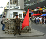 Checkpoint Charlie Border Guard
